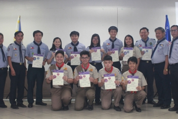 CKSians Receive Scouts of the World Award
