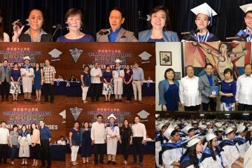 中正學院K-12方案 高中部第一屆畢業典禮 康道盛先生蒞會勉勵學子