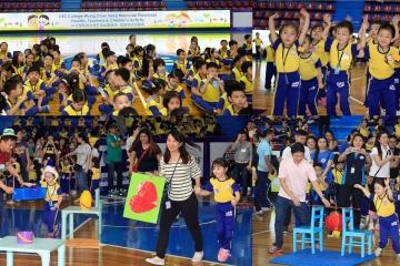 中正學院泉笙培幼園舉行第21週年親子活動會