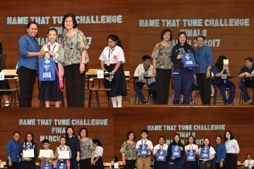 中正學院音樂中心舉辦 中小學「聽曲猜名」挑戰賽